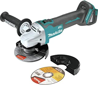 Makita XAG03Z-R 18V LXT Cordless Lithium-Ion 4-1/2 in. Brushless Cut-Off/Angle Grinder (Tool Only) (Renewed)