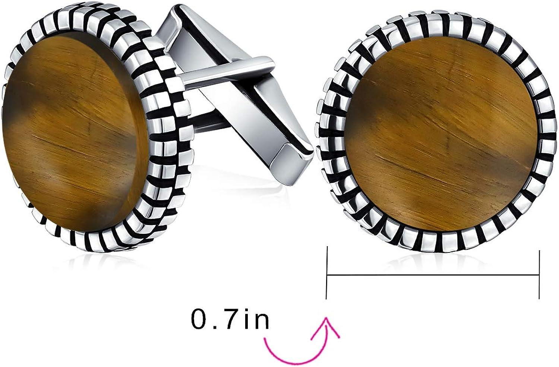 Klassische formale geometrische geschw/ärzten Muster Rand Runde Kreis Geniune schwarz Onyx Shirt Manschettenkn/öpfe f/ür M/änner Scharnier 925 Sterling Silber