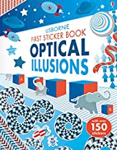 First Sticker Book Optical Illusions (First Sticker Books)