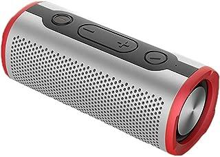 GLJJQMY Wireless Bluetooth Speaker Outdoor Waterproof Subwoofer Bluetooth 4.2 (Color : Red)