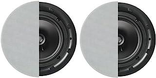 Q Acoustics Q Instal QI80C Professional 20cm in Ceiling Speakers (Pair) (Round Grille)