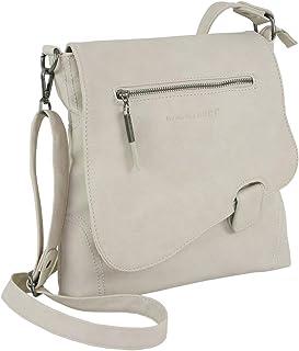 WILD THINGS ONLY !!! BAG STREET Damen Handtasche mit Riegel-Magnetverschluss und Reißverschluss | 4 Liter Volumen | Farbe ...