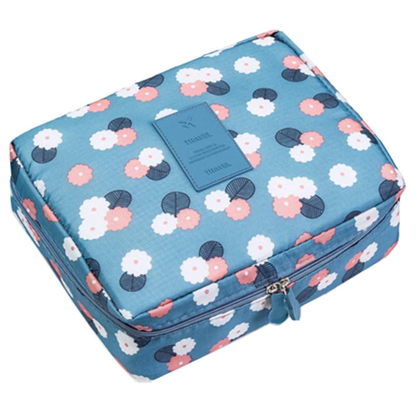 疑いオプション再編成するTemeisi 化粧ポーチ トラベル 収納バッグ 防水 大容量 コスメバッグ 便利 洗面用具入れ 旅行 小物入れ メイクボックス トイレタリーバッグ