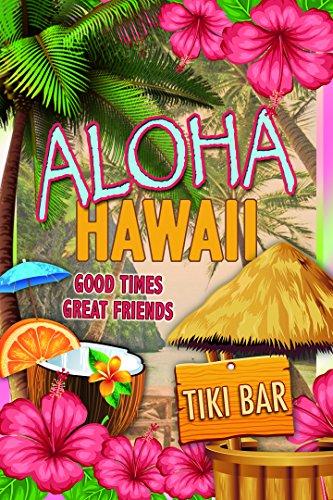 Schatzmix Aloha Hawaii Tiki Bar - Placa Decorativa