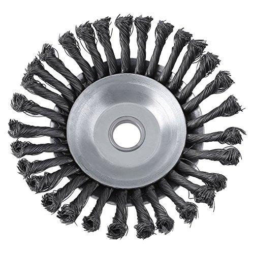 Lovelysunshiny Forniture per decespugliatori a disco rotante in filo di ferro con filo rotante di torsione 25.4x200mm