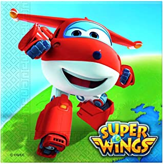 Color 13cm Red Rot X-Ray Transforming Jett Pre-School Preschool Action Figure Super Wings- Auldeytoys EU710210A Spielzeugfigur Transformer Medium