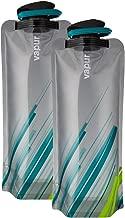 Vapur - Element (2-Pack) BPA Free Foldable Flexible Water Bottle w/Carabiner
