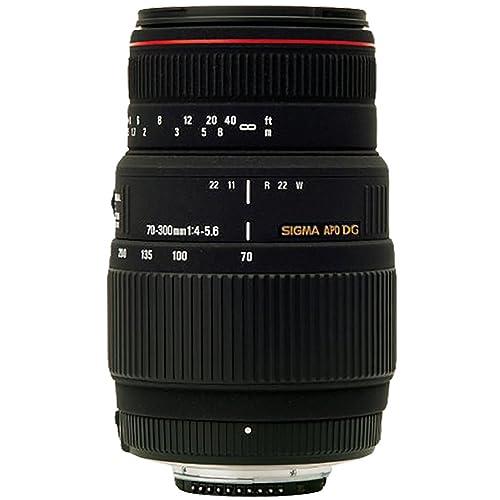 Sigma AF 70-300mm F/4-5.6 DG APO Macro Telephoto Zoom Lens for Canon DSLR Camera