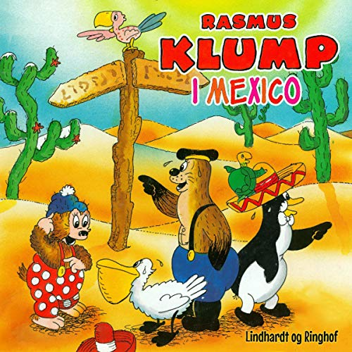 Rasmus Klump i Mexico Titelbild