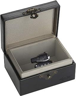 $20 » MONOJOY Faraday Box for Car Key Fob Protector Black Signal Blocker PU Leather Cage, Blocking RF RFID 4G 5G WiFi Bluetooth ...