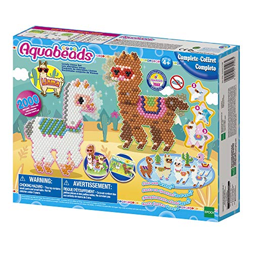 Aquabeads 31596 Lovely Lama Set - Bastelset