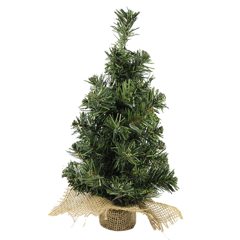 大騒ぎ霧またはどちらかLiTi クリスマスツリー ミニ PVC 卓上 テーブル オーナメント ツリー飾り 30CM
