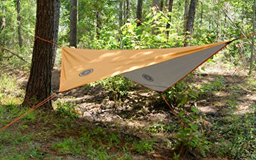 Product Image 1: UST All Weather Tarp with Aluminized Reverse Side and Multifunctional Use Great for Shelter, Calping, Backpacking, Outdoor Survial and More