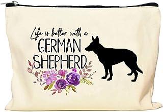 German Shepherd Life is Better Makeup Bag