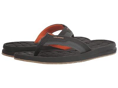 Volcom E-Cliner Sandal (Burnt Orange) Men