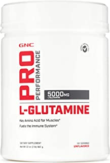 Sponsored Ad - GNC Pro Performance L-Glutamine - Unflavored, 181 Servings, Supports The Immune System