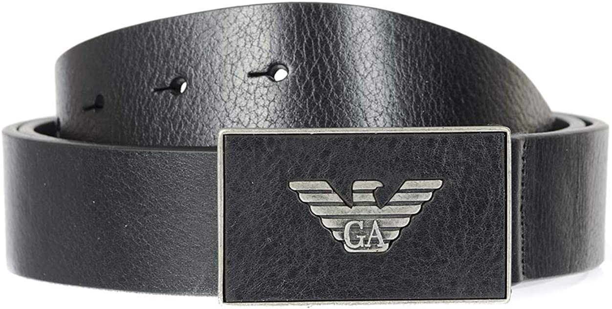 Emporio overseas Now free shipping Armani Mens Y4S196 YDC0G Belt