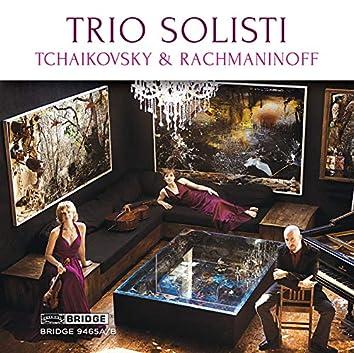 Tchaikovsky & Rachmaninoff: Piano Trios
