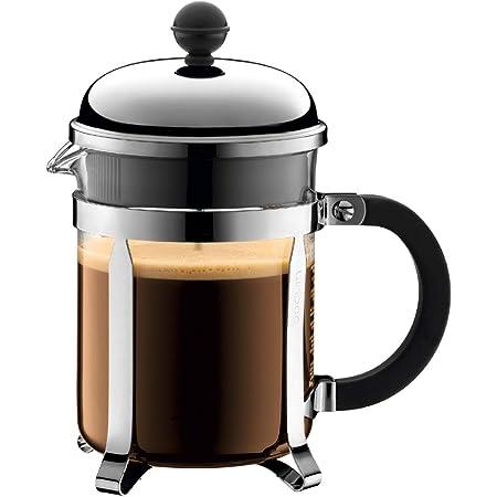 BODUM ボダム CHAMBORD シャンボール フレンチプレス コーヒーメーカー 500ml シルバー 【正規品】 1924-16J