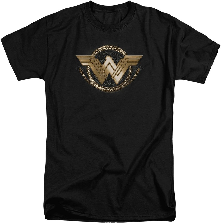 Wonder Woman Movie  Mens Lasso Logo Tall TShirt