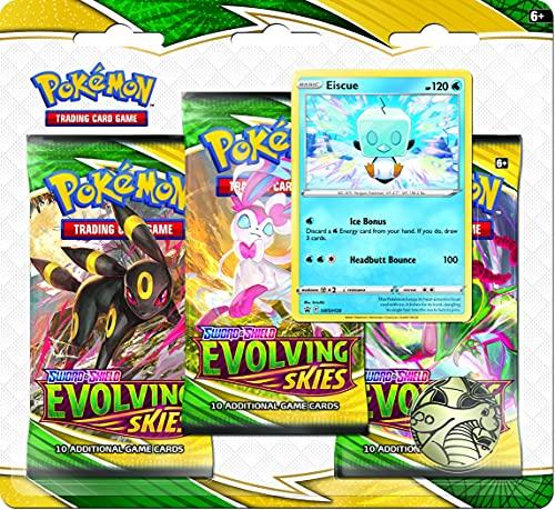 Pokémon TCG: Sword & Shield Evolving Skies Three-Booster Blister