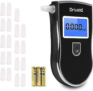 Drivaid Alcoholimetro Digital Homologado, Profesional Portá