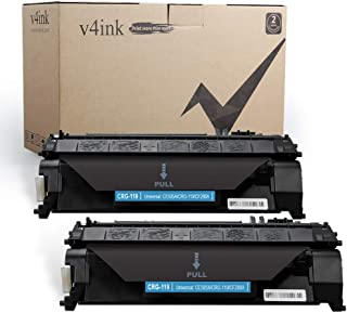V4INK 2PK Compatible Toner Cartridge Replacement for Canon 119 3479B001AA CRG-119 Toner Ink for Canon ImageClass mf414dw mf416dw mf419dw mf5950dw mf5960dn lbp251dw lbp253dw lbp6300dn lbp6670dn Printer
