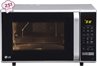 (Renewed) LG 28 L Convection Microwave Oven (MC2846SL, Silver)