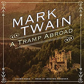 A Tramp Abroad audiobook cover art