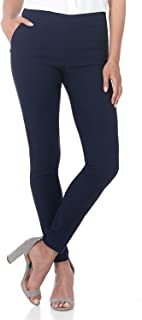 REKUCCI Women's Ease in to Comfort Modern Stretch Skinny Pant w/Tummy Control 6 Navy
