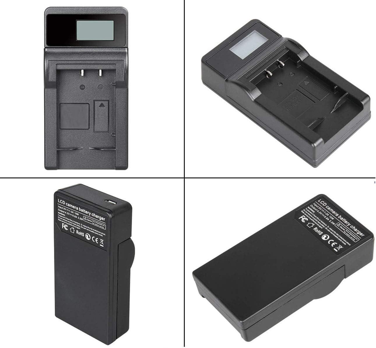 VP-DC565WB Battery Pack USB Charger for Samsung VP-DC565W VP-DC565Wi VP-DC565WBi Digital Camcorder