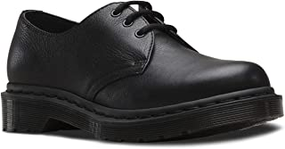 Womens 1461 Mono Virginia Fashion Smooth Leather Black Shoes