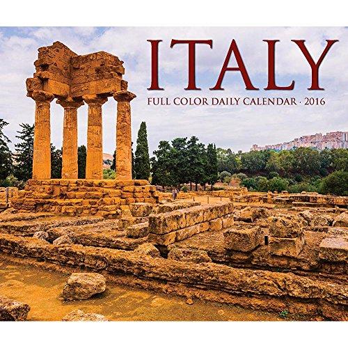 Italy Desk Calendar