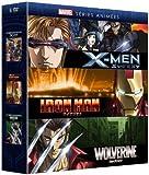 Marvel Séries Animées-X-Men + Iron Man + Wolverine