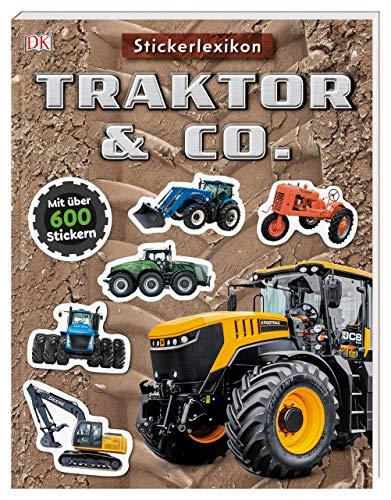 Sticker-Lexikon. Traktor & Co.: Mit über 600 Stickern