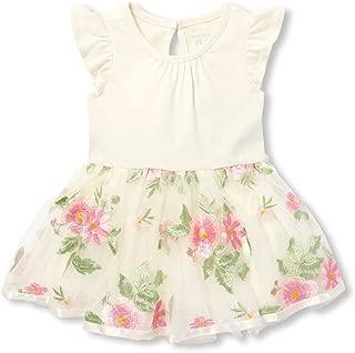 Baby Girls Flutter Sleeve Dress