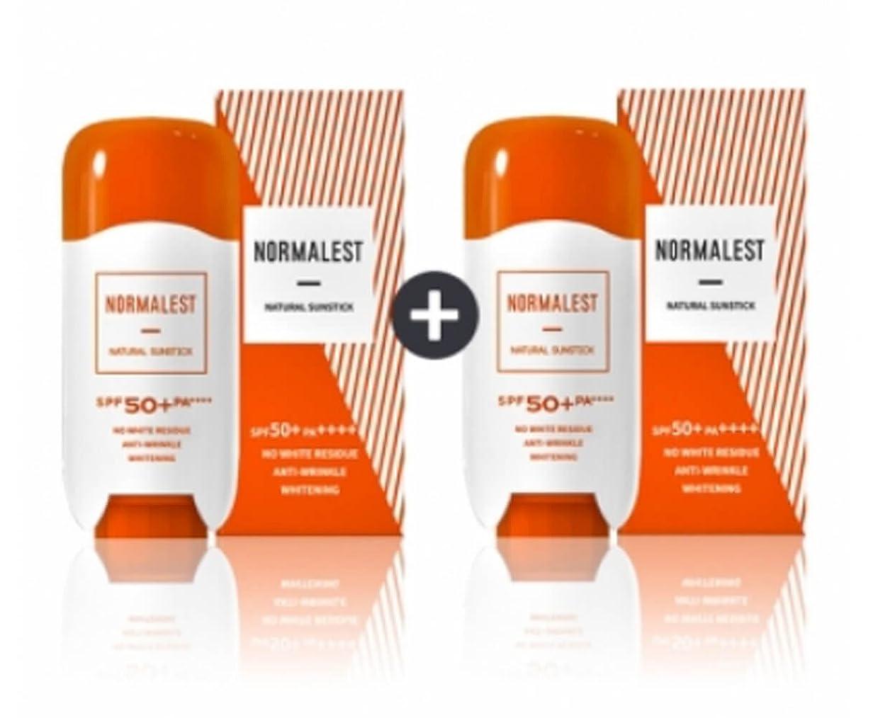 熟達乏しいアリーナ[ノーマルリスト] Nomalist ナチュラル サンスティク1+1 サンケア 日焼け止め サンブロック 紫外線遮断 美白 シワ改善機能性 化粧品 海外直送品 (Natural Sun Stick 1 + 1 Sunscreen Sun Block UV Protection Whitening Wrinkle Functional Cosmetics)