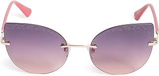 Guess Women's GU769228Z Sunglasses, Color: Shiny Rose Gold/Gradient, Size: 57