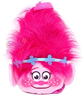 Dreamworks Trolls Movie Poppy Cooper Childrens Backpack with Front Zipper Pocket