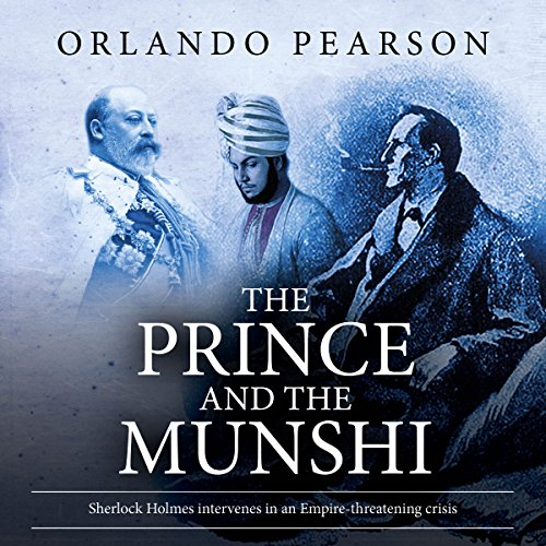 The Prince and the Munshi audiobook cover art