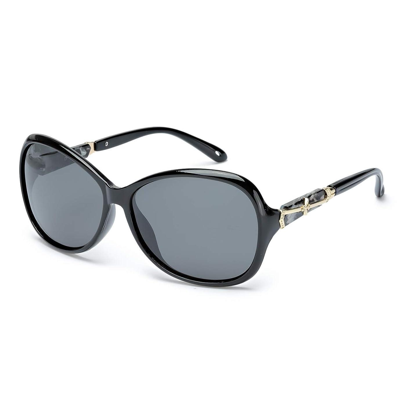 図シェルター規定Protineff クラシック 偏光 サングラス レディース 女性 ファッション サングラス 紫外線 保護 眼镜