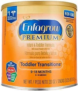 (跨境自营)(包税) Mead Johnson 美赞臣 美版Enfagrow Premium幼儿配方奶粉 2段 567g/罐(最早有效期2019年10月)