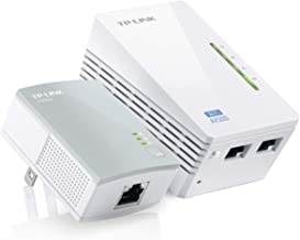 Best TP-Link AV600 Powerline WiFi Extender - Powerline Adapter with WiFi, WiFi Booster, Plug & Play, Power Saving, Ethernet over Power, Expand both Wired and WiFi Connections (TL-WPA4220 KIT) Reviews