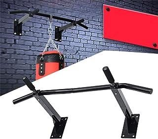 Multi Function Wall Mount Pull Up Bar- Indoor Sports Equipment Gymnastics Horizontal Bar Wall Mounted Pull Up Chin Up Bar ...