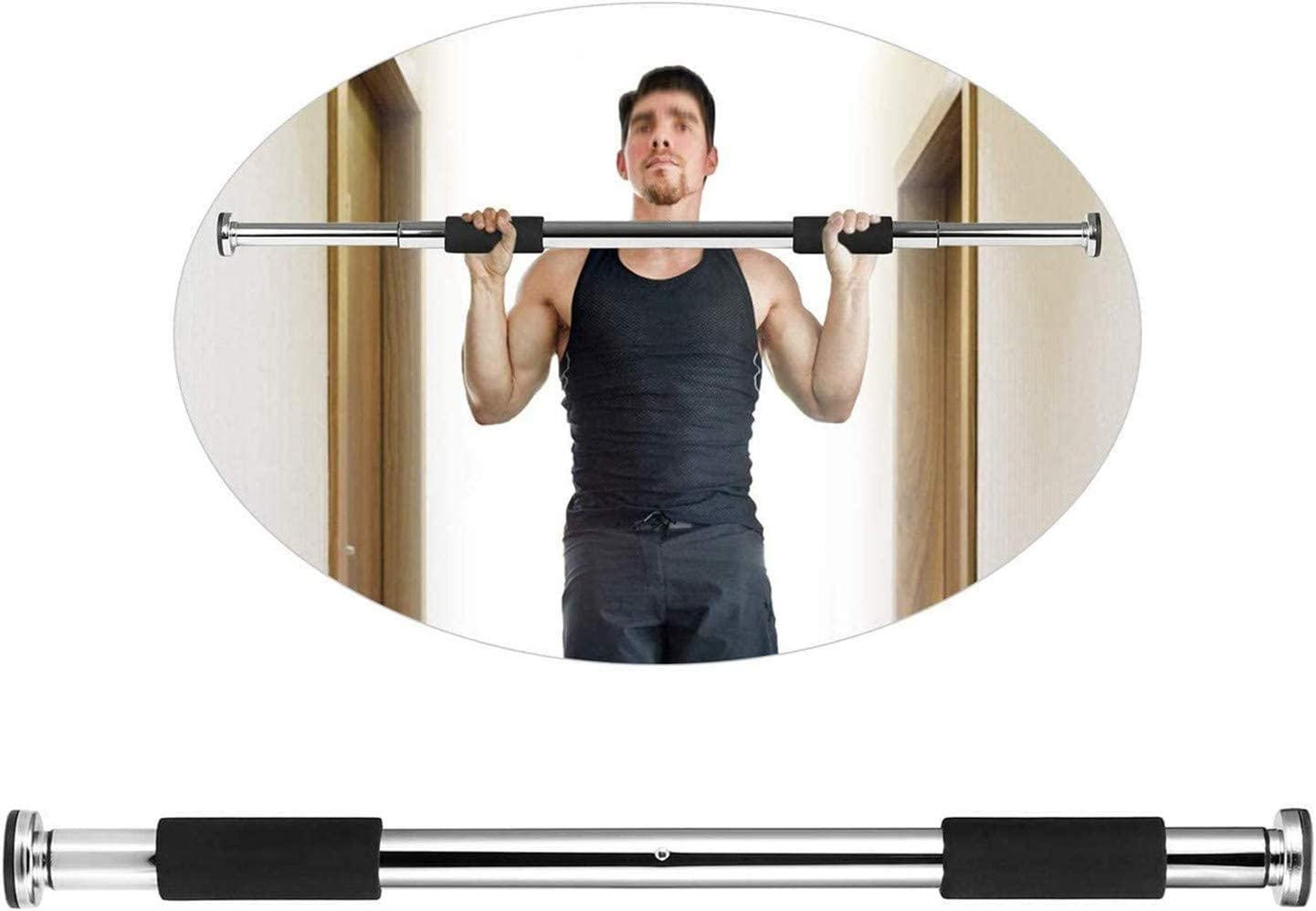 Nhmpretty Chin up 新商品 Bars Pull Up 大規模セール T Door Body Bar Portable Sit