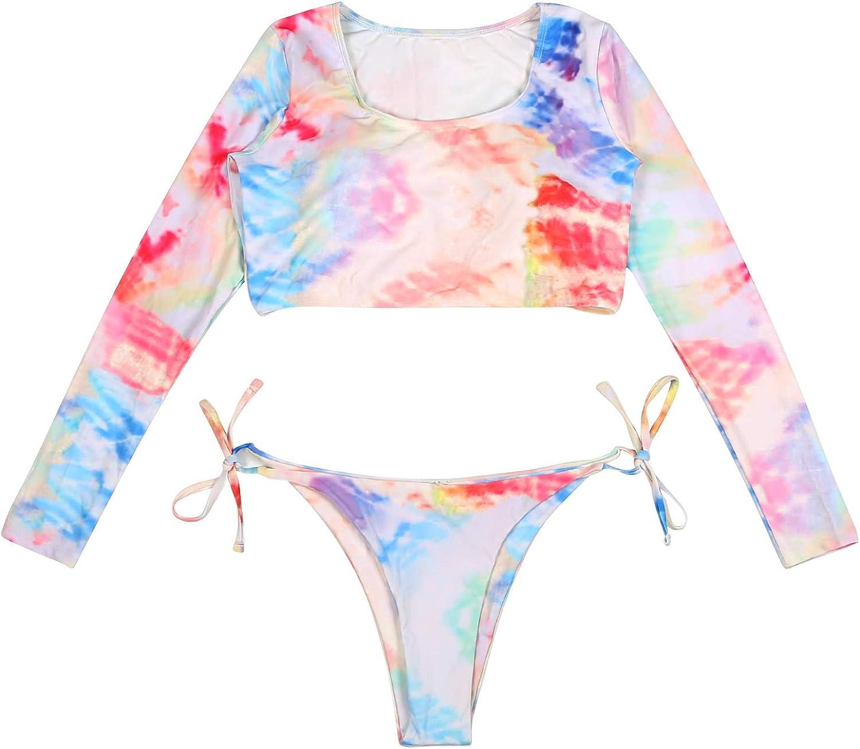 arttranson Women's Two Piece Swimsuit,Bikini,Black Bathing Suit