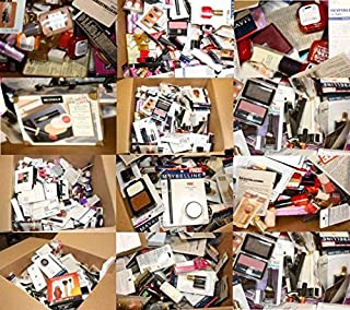 20 Piece Wholesale Makeup Assorted Lot ~ L'oreal Maybelline Covergirl Sally Hansen Almay Revlon & More Name Brand Cosmetics (20 Piece)
