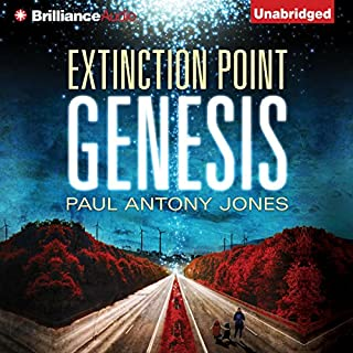 Genesis     Extinction Point Series, Book 4              By:                                                                                                                                 Paul Antony Jones                               Narrated by:                                                                                                                                 Emily Beresford                      Length: 8 hrs and 50 mins     55 ratings     Overall 4.6