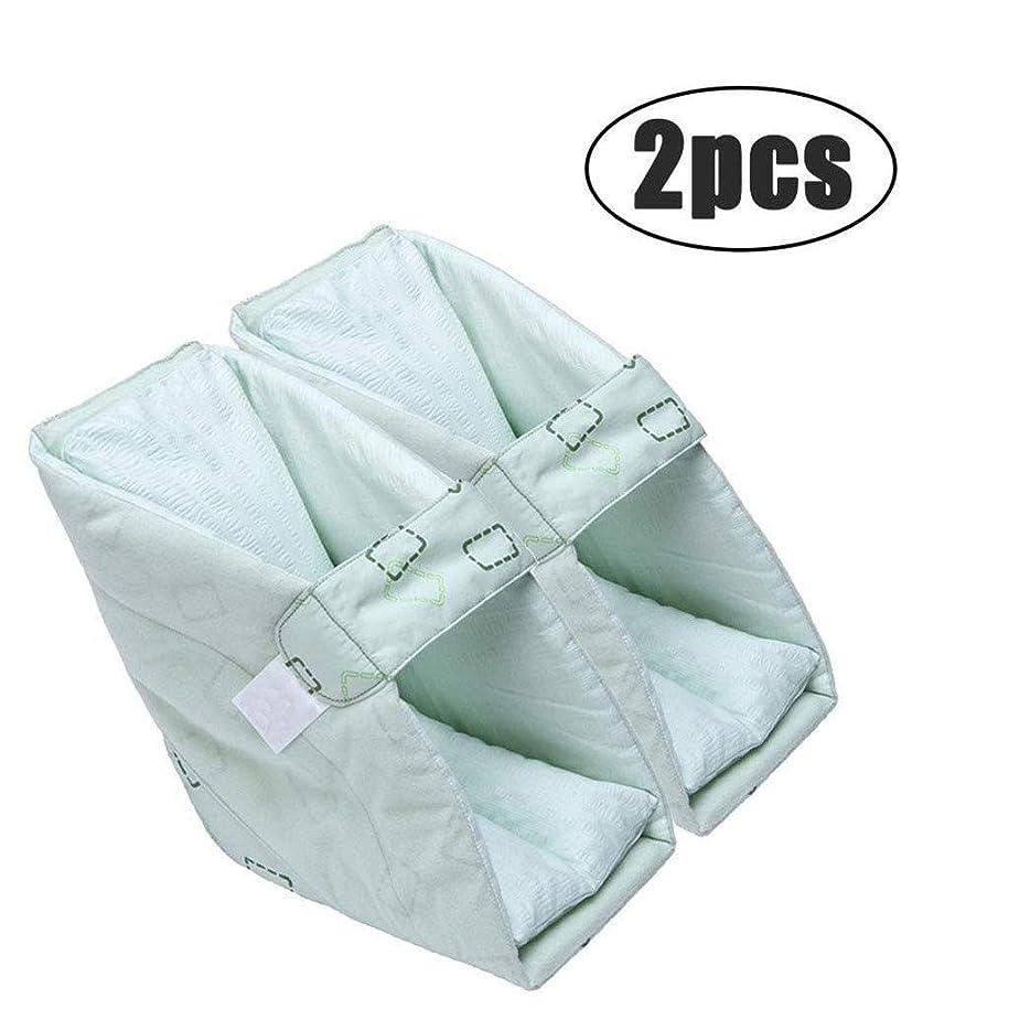 中級雪だるまうぬぼれTONGSH 足の枕、かかとのプロテクター、かかとのクッション、かかとの保護、効果的なPressure瘡およびかかとの潰瘍の救済、腫れた足に最適、快適なかかとの保護の足の枕 (Size : 2pcs)