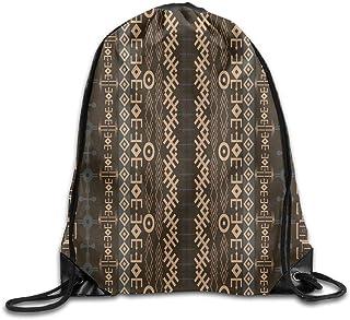 f97283e89f Etryrt Sacs à Cordon,Sac à Cordes,Sac à Dos, Drawstring Backpack Traditional